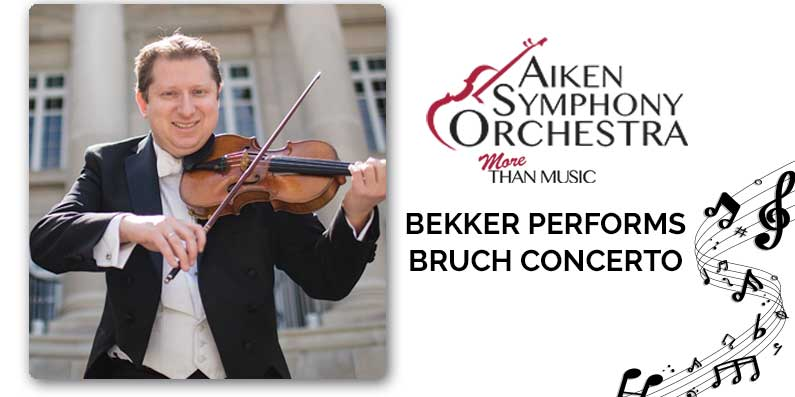 CLASSICAL – BEKKER PERFORMS BRUCH CONCERTO